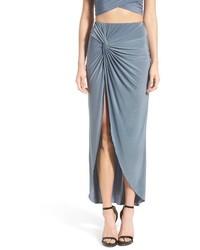 Falda larga celeste de Missguided