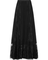 e55101f41 Comprar una falda larga de gasa negra de NET-A-PORTER.COM  elegir ...