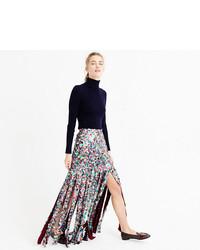 626b567fb Comprar una falda larga de lentejuelas plateada: elegir faldas ...