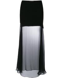 9600c97c25 Comprar una falda larga de tul negra Givenchy