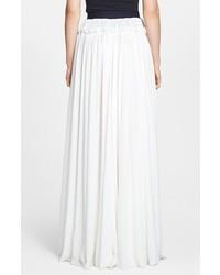 ... Falda larga plisada blanca de Faith Connexion f6c52d24fd14
