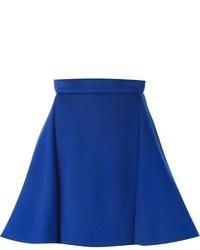Falda Línea A Azul de Antonio Berardi