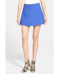 Falda Línea A Azul