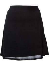 Falda línea a negra de Alexander Wang