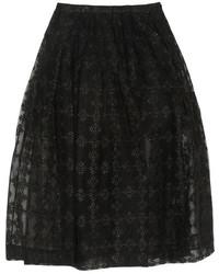 a36532690 Comprar una falda midi de tul plisada negra de NET-A-PORTER.COM ...