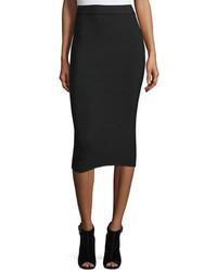 Falda midi negra de Alexander Wang
