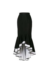 Falda midi negra de Milla Milla