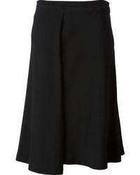 Comprar una falda midi plisada negra Ann Demeulemeester  e59a30174df0