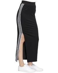 Falda negra de adidas