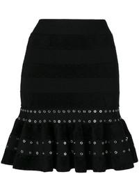 Falda negra de Alexander McQueen