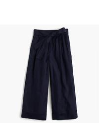 Falda pantalón azul marino de J.Crew