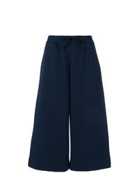 Falda pantalón azul marino de Maison Margiela