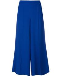 Falda pantalón azul de Salvatore Ferragamo