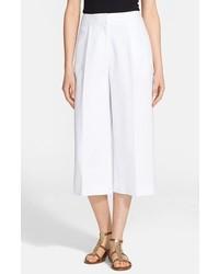 Falda pantalón blanca de Kate Spade