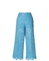 Falda pantalón celeste de Twin-Set