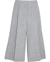 Falda pantalón de lana gris