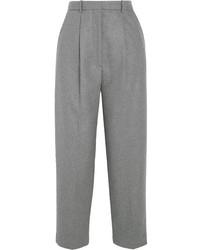 Falda pantalón de lana gris de Acne Studios