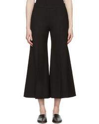 Falda pantalón de lana negra de Acne Studios