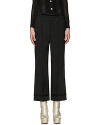 Falda pantalón de lana negra de Marc Jacobs