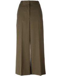 Falda pantalón de lana verde oliva de 3.1 Phillip Lim