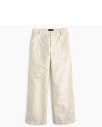 Falda pantalón en beige de J.Crew
