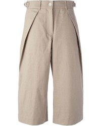 Falda pantalón en beige de Sacai