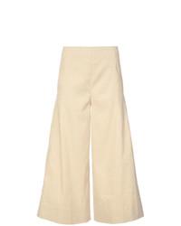 Falda pantalón marrón claro de Vince