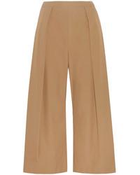 Falda pantalón marrón