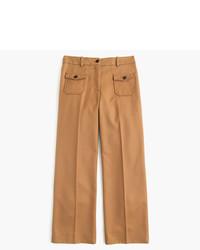 Falda pantalón marrón de J.Crew