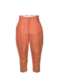 Falda pantalón naranja de Comme Des Garçons Vintage
