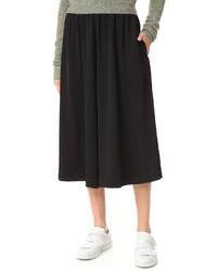 Falda pantalón negra de Acne Studios