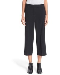 Falda pantalón negra de DKNY