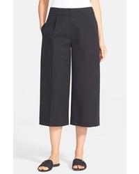 Falda pantalón negra de Kate Spade