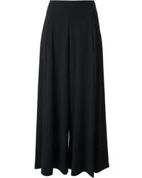 Falda pantalón negra de Moschino