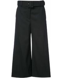 Falda pantalón negra de Oscar de la Renta