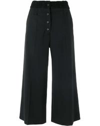 Falda pantalón negra de Proenza Schouler