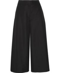 Falda pantalón negra de Valentino