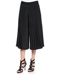 25b85aef99 Comprar una falda pantalón plisada negra de Neiman Marcus  elegir faldas  pantalón plisadas negras más populares de mejores marcas