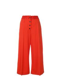 Falda pantalón roja de Proenza Schouler