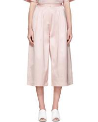 Falda pantalón rosada de Edit