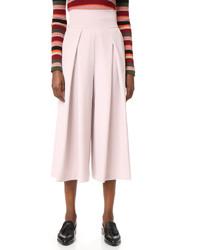 Falda pantalón rosada de Milly