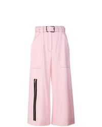 Falda pantalón rosada de Proenza Schouler