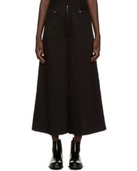Falda pantalón vaquera negra de Marc Jacobs