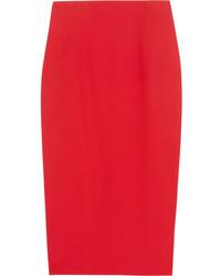 Falda roja de Alexander McQueen