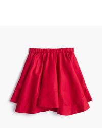 Falda roja de J.Crew