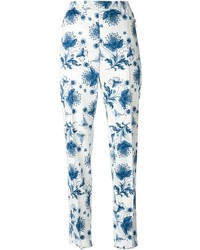 Floral Chinos