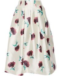 Floral Full Skirt