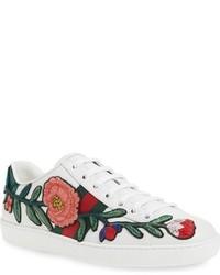 Floral low top sneakers original 3695685