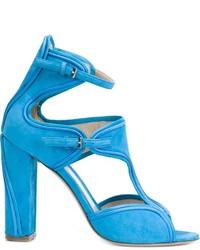 Fur heeled sandals original 11313650