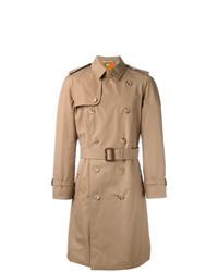 Gabardina bordada marrón claro de Gucci